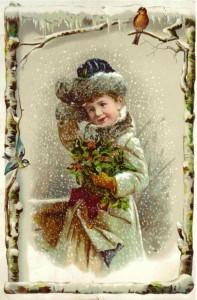 Christmas Girl old
