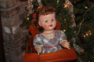Saucy Walker doll.