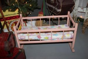 Cradle from great-aunt Clara.