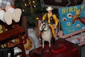 Matt Dillon on his horse.