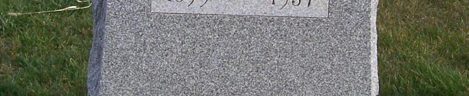 Roman Heffner, Zion Lutheran Cemetery, Chattanooga, Mercer County, Ohio. (2011 photo by Karen)