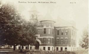 Willshire High School, October 1917.