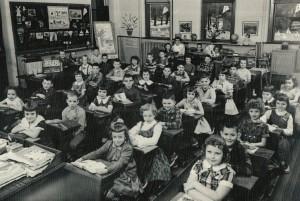 Second grade class, 1959-1960, Willshire Public School, Mrs. Marcella Schroeder, teacher.