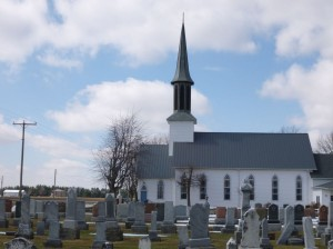 St. Paul's Reformed Church in America, Harrison Twp., Van Wert Co., founded as a German Evangelical church in 1850 by Rev. J.D. Gackenheimer.