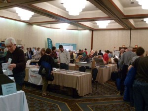 Exhibit Hall, 2015 OGS Conference.