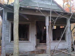 Old Chatt barbershop, converted into a home. Photo submitted.