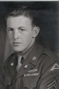 Herb Miller, US Army, WWII.