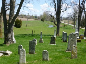 Old St. John's Cemetery, Pusheta Rd, Auglaize County, Ohio. (2015 photo by Karen)