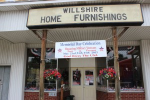 Willshire Home Furnishings. (2015 photo by Karen)