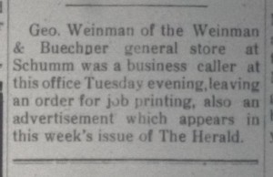The Willshire Herald, 5 February 1925, p.3.