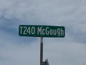 McGough Road, south of Willshire, in Mercer County, Ohio. (2015 photo by Karen)