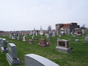 Zion Lutheran Cemetery, Chattanooga, Mercer County, Ohio. (2013 photo by Karen)