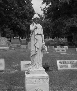 Elm Grove Cemetery, St. Marys, Auglaize County, Ohio (2014 photo by Karen)