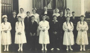 1917 Confirmation Class, Zion, Chatt.