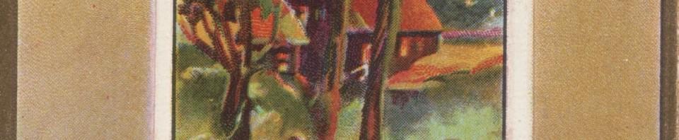 Thanksgiving Postcard, c1910