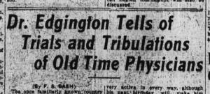 The Huntington Herald, 6 April 1929, p.1.
