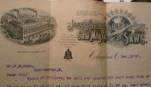 1897 Letter to FT Kuhn (1)