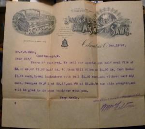 1897 Letter to FT Kuhn (2)