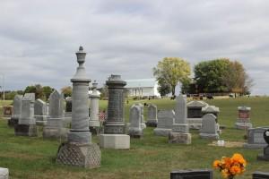 Zion Lutheran Cemetery, Schumm. (2015 photo by Karen)