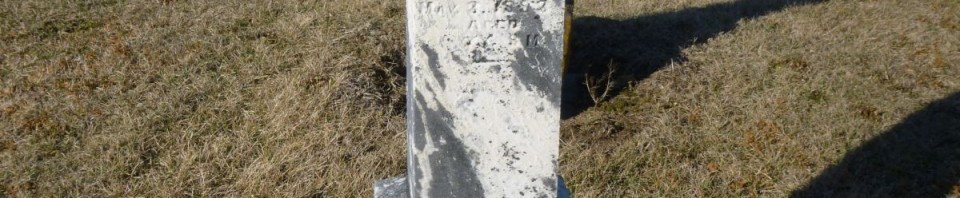 Lennie Hiller, Kessler Cemetery, Mercer County, Ohio. (2016 photo by Karen)
