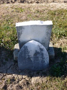 John Hiller, Kessler Cemetery, Mercer County, Ohio. (2015 photo by Karen)