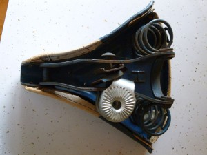 Huffy Galaxy Bicycle seat from the 1960s.