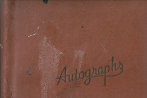 1945 Autograph Book