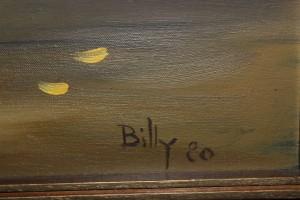 Billy Milligan signature w/1980 date. (2016 photo by Karen)