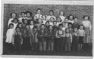 1911 Wildcat School, Mercer County, Ohio.