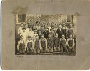 1925 Wildcat School, Mercer County, Ohio.