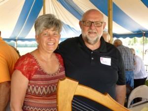 Paula & Dr. Herbert Schumm (2016 photo by Karen)