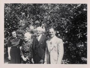 Freida, Barbara, George M, and Fred Weck.