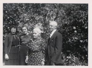 Unidentified woman, Freida, Barbara, George M Schumm