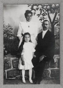 George M, Barbara, and Freida Schumm.