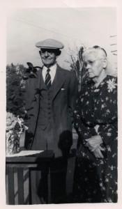 Taken on their 50th Wedding Anniversary, 17 June 1951.
