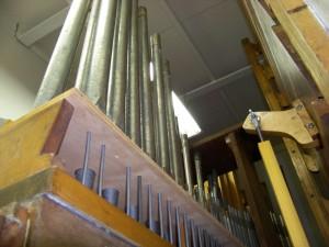 Zion's organ chamber. (2007 photo by Karen)