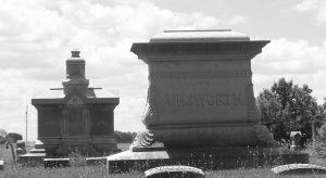 Woodland Cemetery, Van Wert, OH. (2011 photo by Karen)