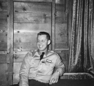 Donald Caffee, Korean War.