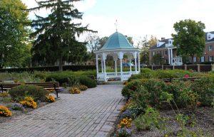 Rose Garden, Glen Miller Park, Richmond, Indiana. (2016 photo by Karen)