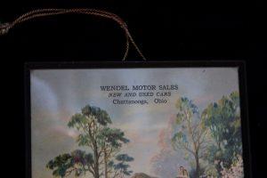 Wendel's Garage, Chattanooga, Ohio