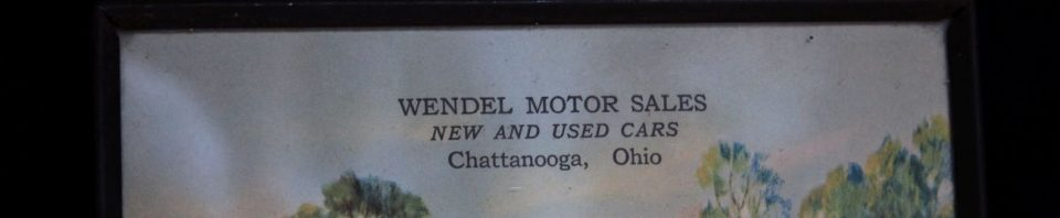 Wendel's Garage, Chattanooga, Ohio