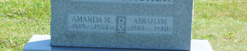 Bollenbacher, Abraham, Amanda