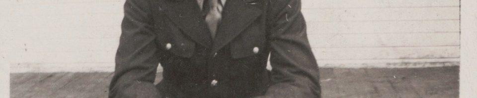 Herb home on furlough, November 1944.