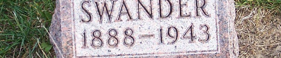 Laura B. (Schott) Swander, Zion Lutheran Cemetery, Chattanooga, Mercer County, Ohio. (2011 photo by Karen)