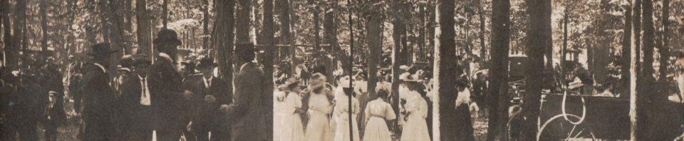 German Lutheran Mission Feast, Schumm, Ohio, 1908.