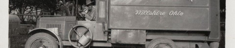 Spitler Grocery, Willshire, Ohio, Huckster Truck