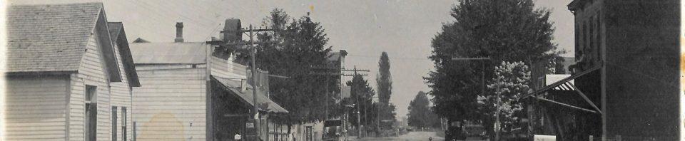 1912 picture postcard of Chattanooga, Ohio.