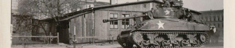 84th Division 309 Sherman Tank, Germany.