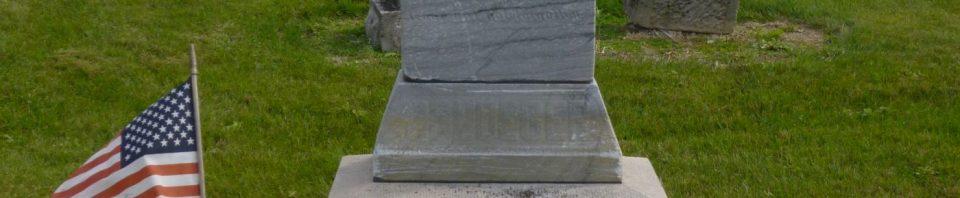 Michael G. Pflueger, Greenbriar Cemetery, Van Wert County, Ohio. (2018 photo by Karen)