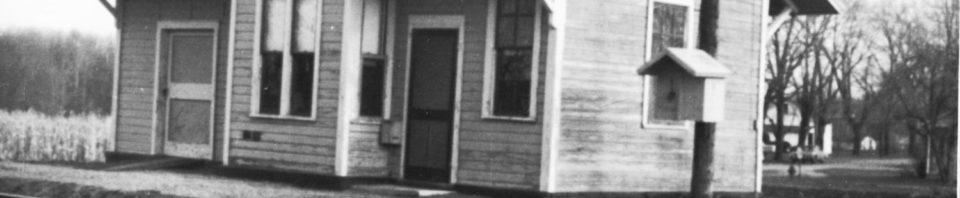 Willshire's Nickel Plate Depot, unknown date.